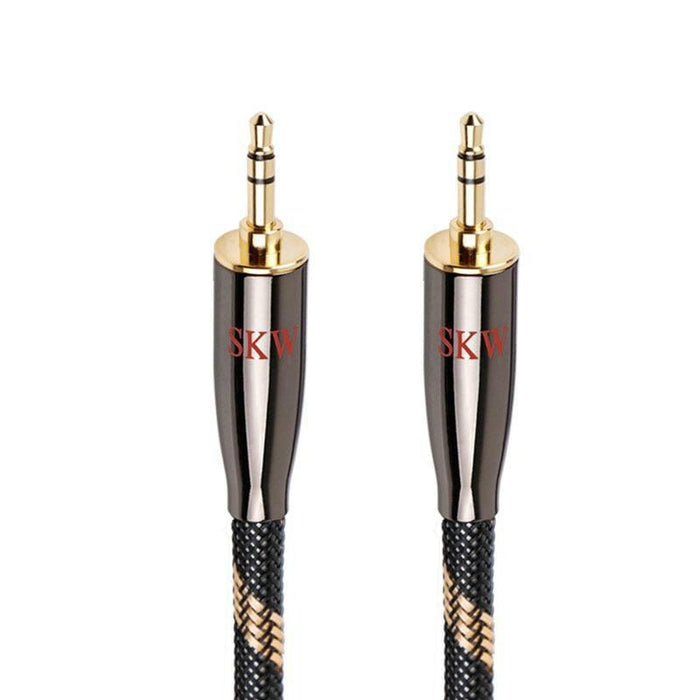SKW AUX Cable 3.5MM Jack To 3.5MM Jack for Huawei Smartphone Tablet Portable CD MP3 Player Audio Cable HiFiGo