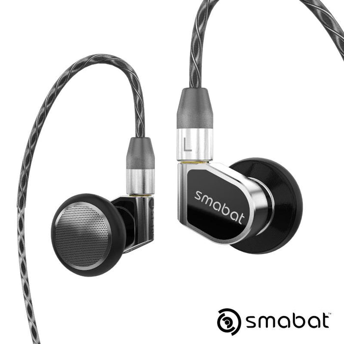 Smabat ST-10s Ear Hook Flagship HIFI Metal Earphone 15.4mm Dynamic HiFiGo