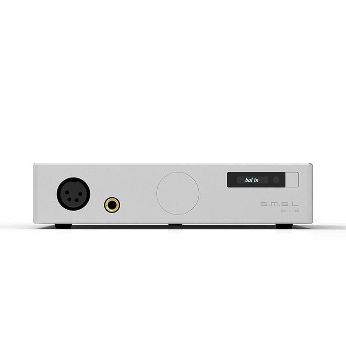 SMSL SH-8 Full Balanced Desktop HIFI Headphone Power AMP High Performance with RCA/XLR Intput 6.35mm/Balanced Output HiFiGo