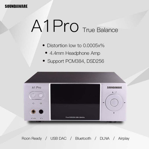 SOUNDAWARE A1PRO Streaming Desktop Network Player Network Player Digital Turntable Decoding AMP HiFiGo