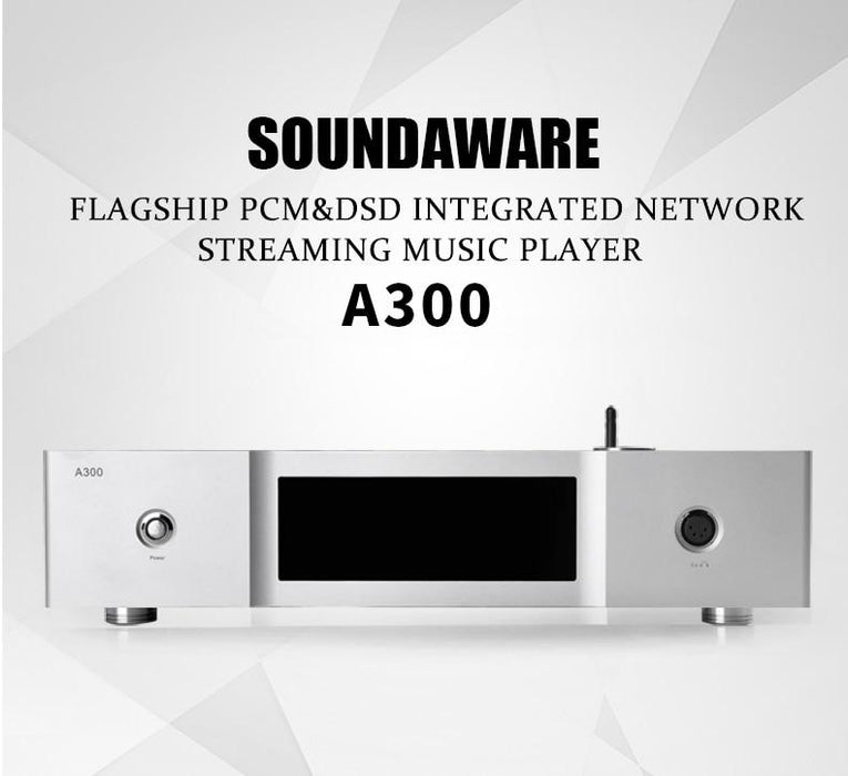 Soundaware A300 Flagship PCM&DSD Integrated Network Streaming Music Player HiFiGo