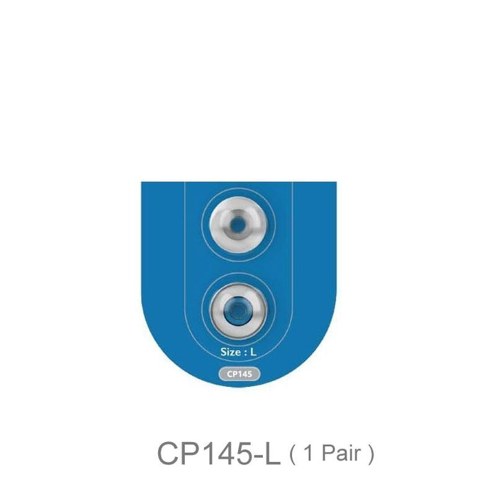 SpinFit CP145 Patented Silicone Eartip 4.5mm Nozzle Dia for DUNU HiFiGo CP145-L 1Pair