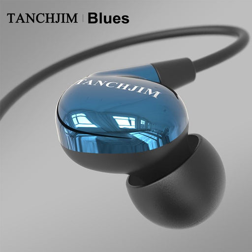 TANCHJIM Blues HiFi Audio DMT Dynamic driver In-ear earphone IEM for Blues/Pop/Rock Music HiFiGo