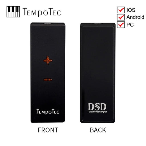 TempoTec SONATA HD PRO Headphone Amplifier Adapter DAC DSD256 For Android&iPhone HiFiGo
