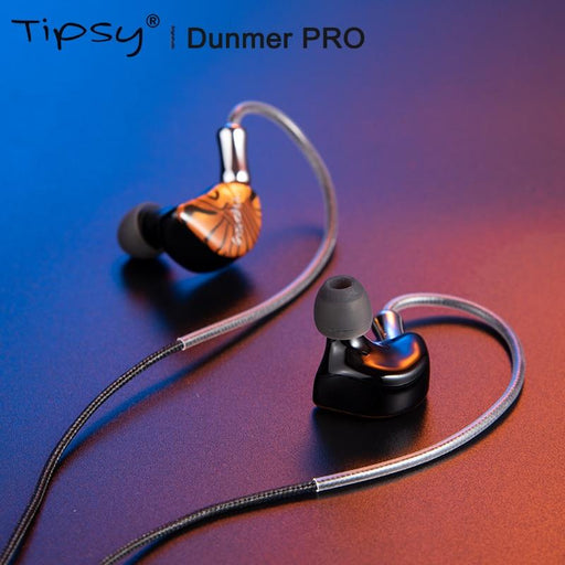 TIPSY Dunmer Pro Hybrid Driver 2BA + 1DD In-ear Monitor Earphone IEM HiFiGo