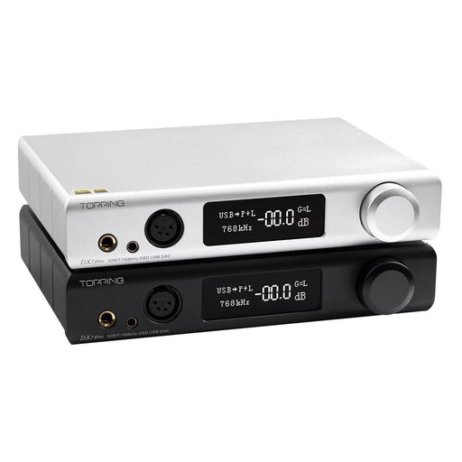 Topping DX7 Pro BT5.0 Full Balanced DAC Headphone AMP ES9038PR 32Bit/768K DSD512 Audio Amplifier HiFiGo