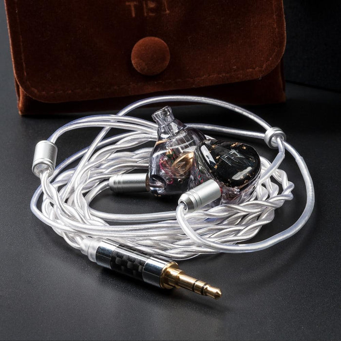 TRI Starlight 4 Electrostatic Driver Units+2BA+1DD In Ear Earphone Flagship IEMs HiFiGo