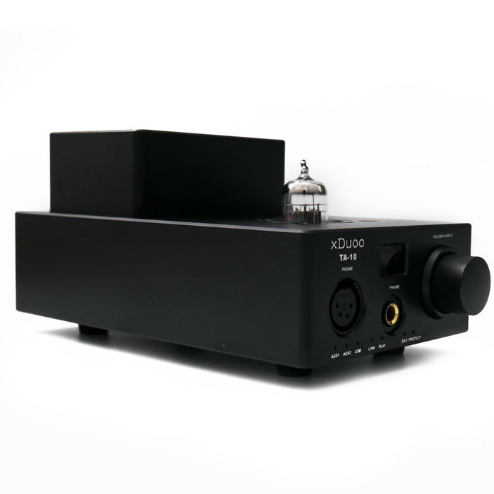 XDUOO TA-10 AK4490 XMOS USB DSD DAC 12AU7 Tube Headphone Amplifier HiFiGo