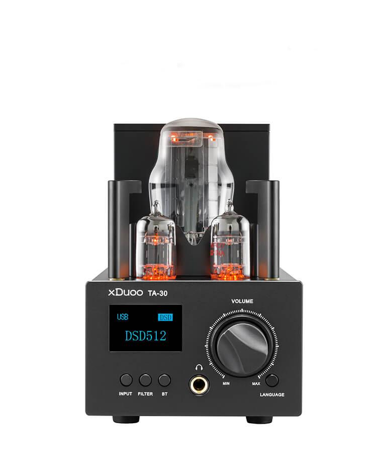 xDuoo TA-30 Tube Headphone Amplifier DAC & Tube Ampilifier HiFiGo