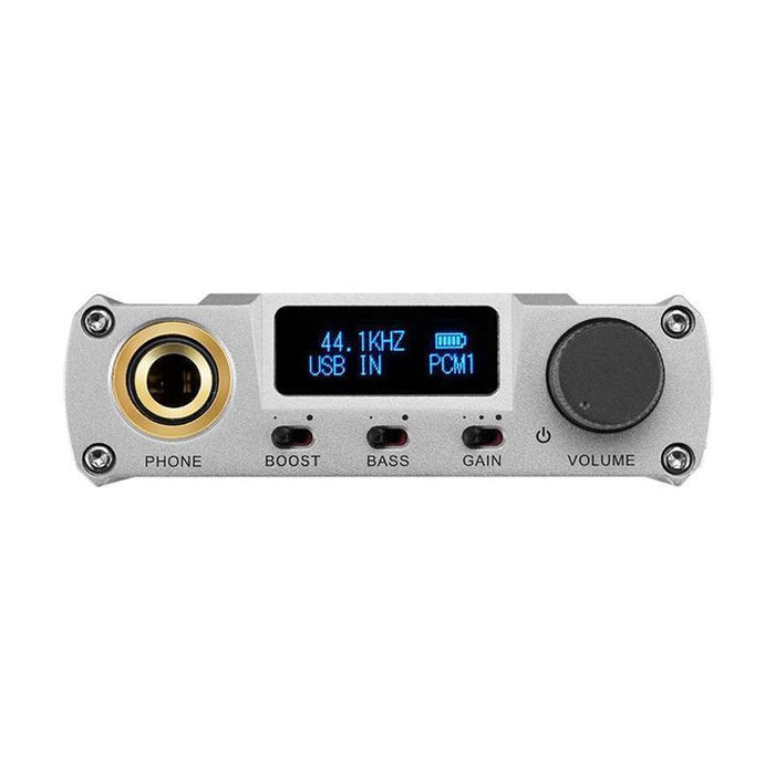 XDUOO XD-05 Plus Portable Desktop DAC Headphone Amplifier 32bit/384kHZ DSD256 Audio Amplifier HiFiGo Silver