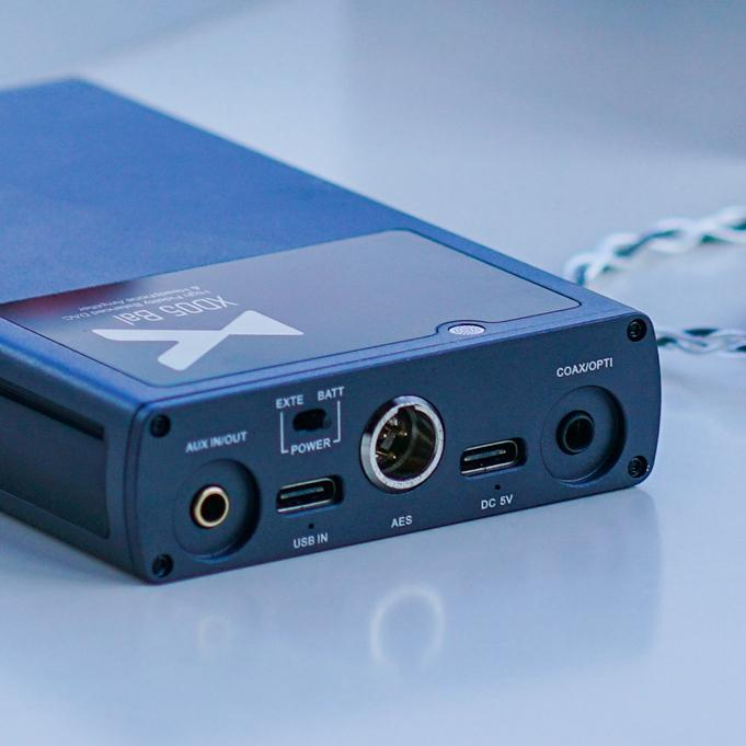 Xduoo XD05 Bal Portable Headphone AMP HiFiGo