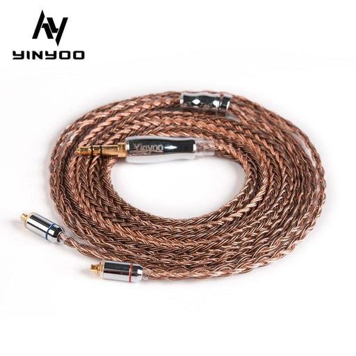 Yinyoo 16 Core High Purity Copper Cable 2.5/3.5/4.4MM MMCX/2PIN/QDC HiFiGo