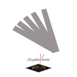 Chopstick Master Abrasive Strips (Set of 5)