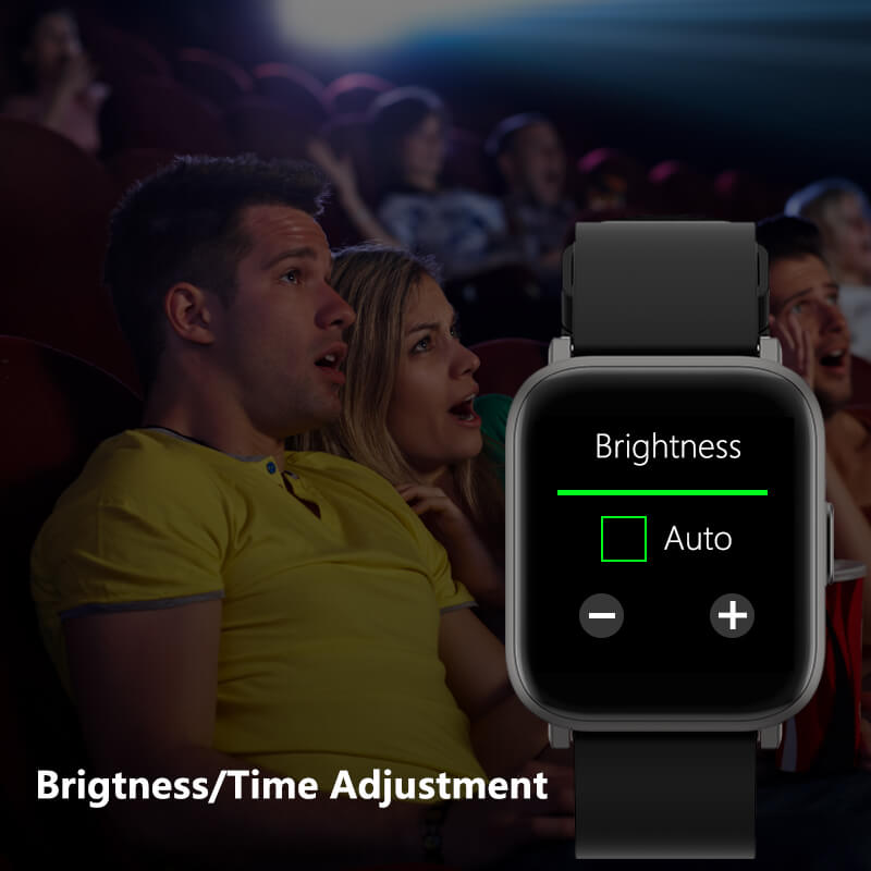Adjustable screen time and brightness