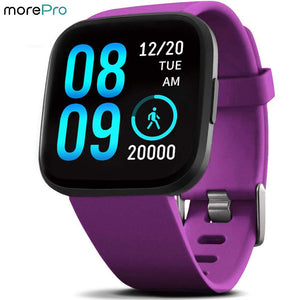 IP68 Waterproof Smart Watch V12C Purple