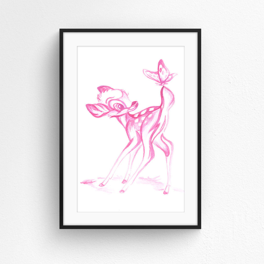 Bambi in Pink