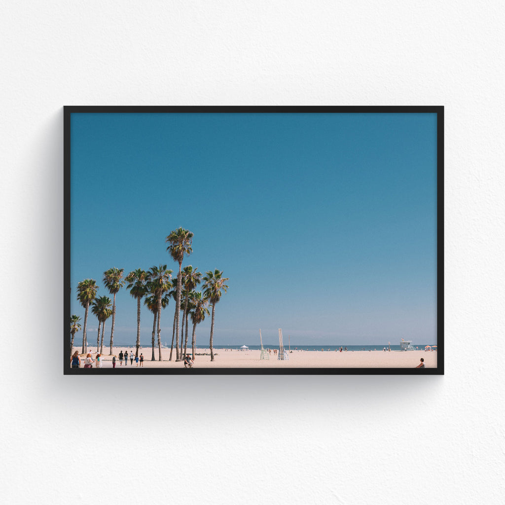 Blue Sky Over Santa Monica - Landscape
