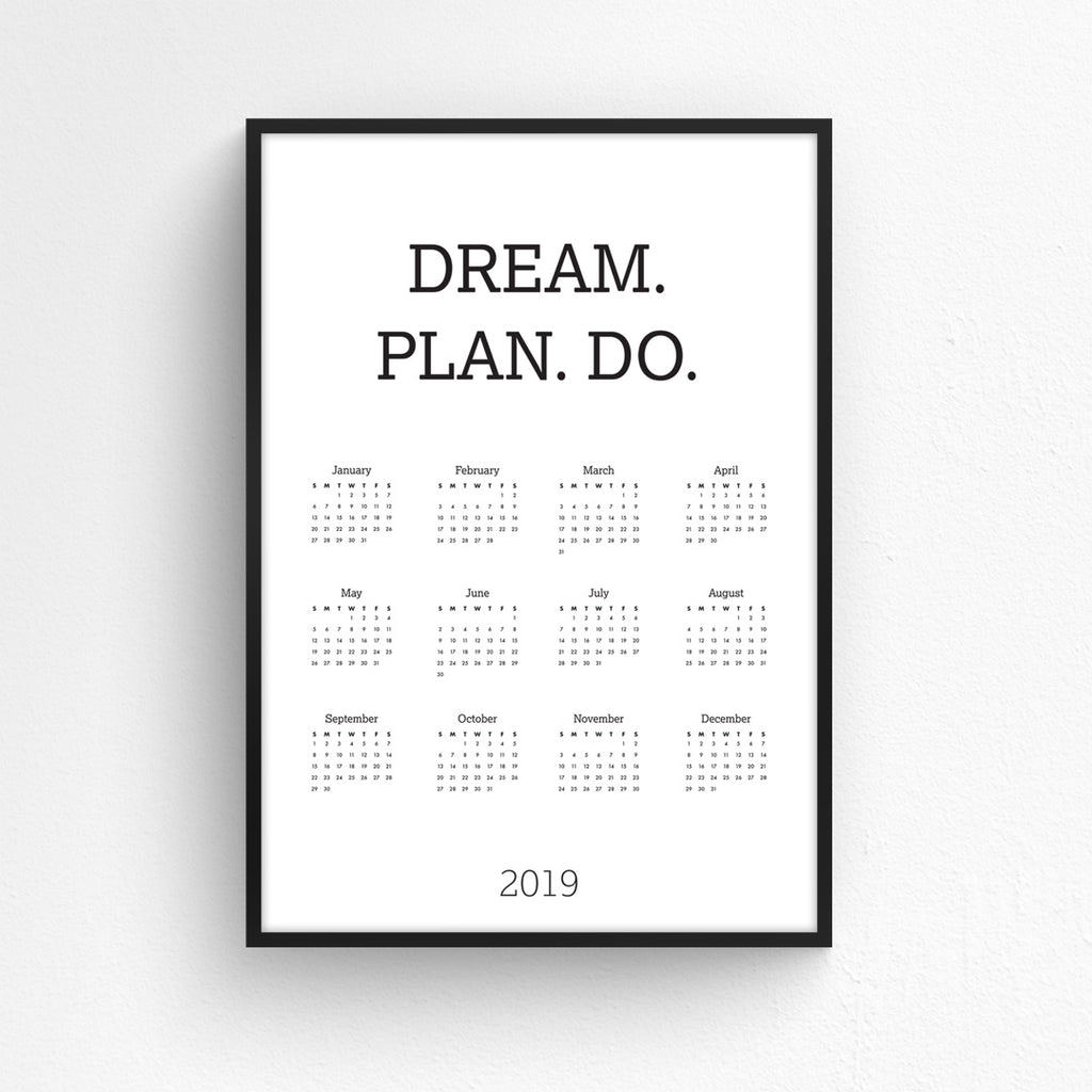 Wall Planner - Dream. Plan. Do.