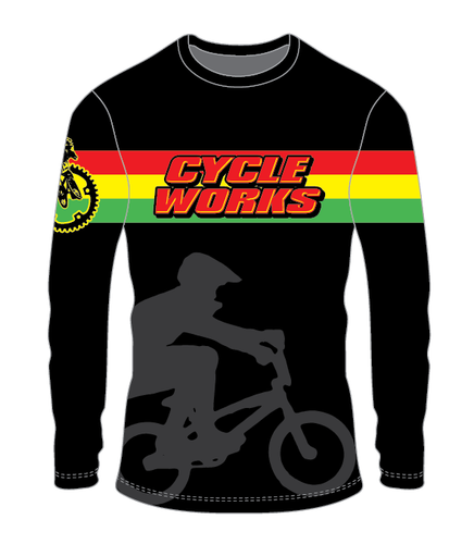 Cycle Works 2019 Racing Jersey - Black