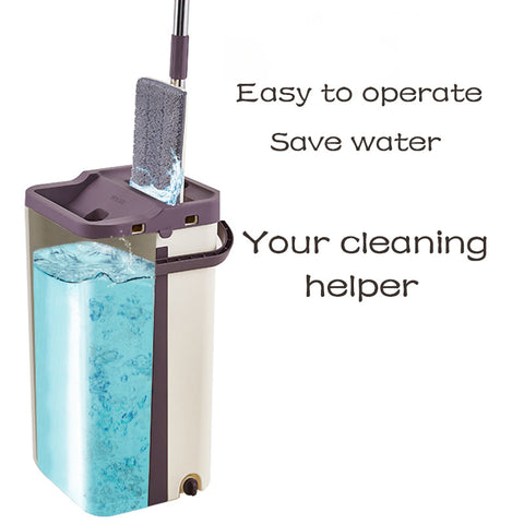 Moppsy Pro Self Cleaning Magic Hands Free Mop