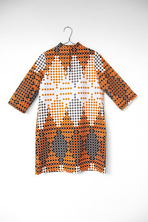 moyo pattern dress