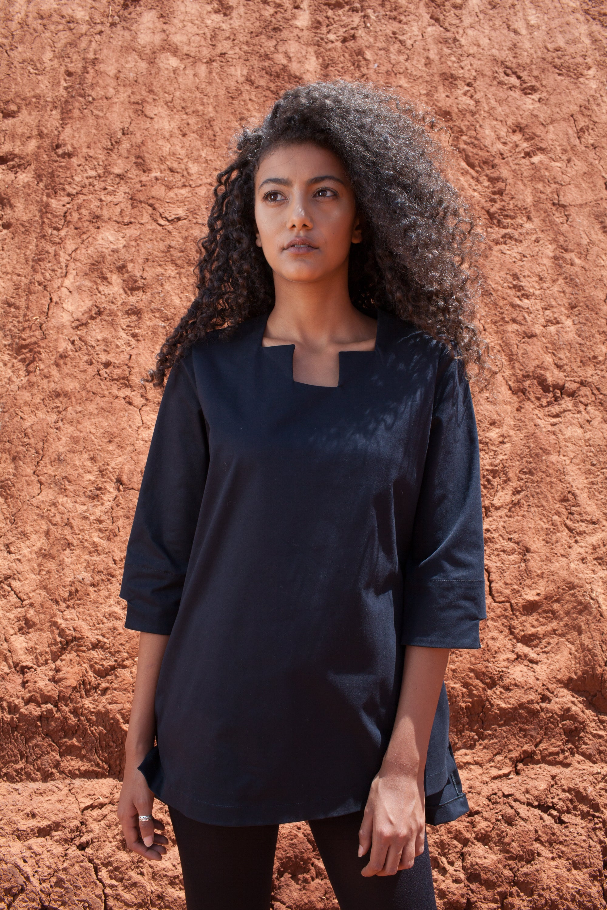 The Joni Tunic Black