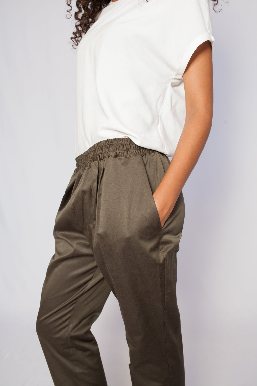 The Rift Valley Pants Safari Green