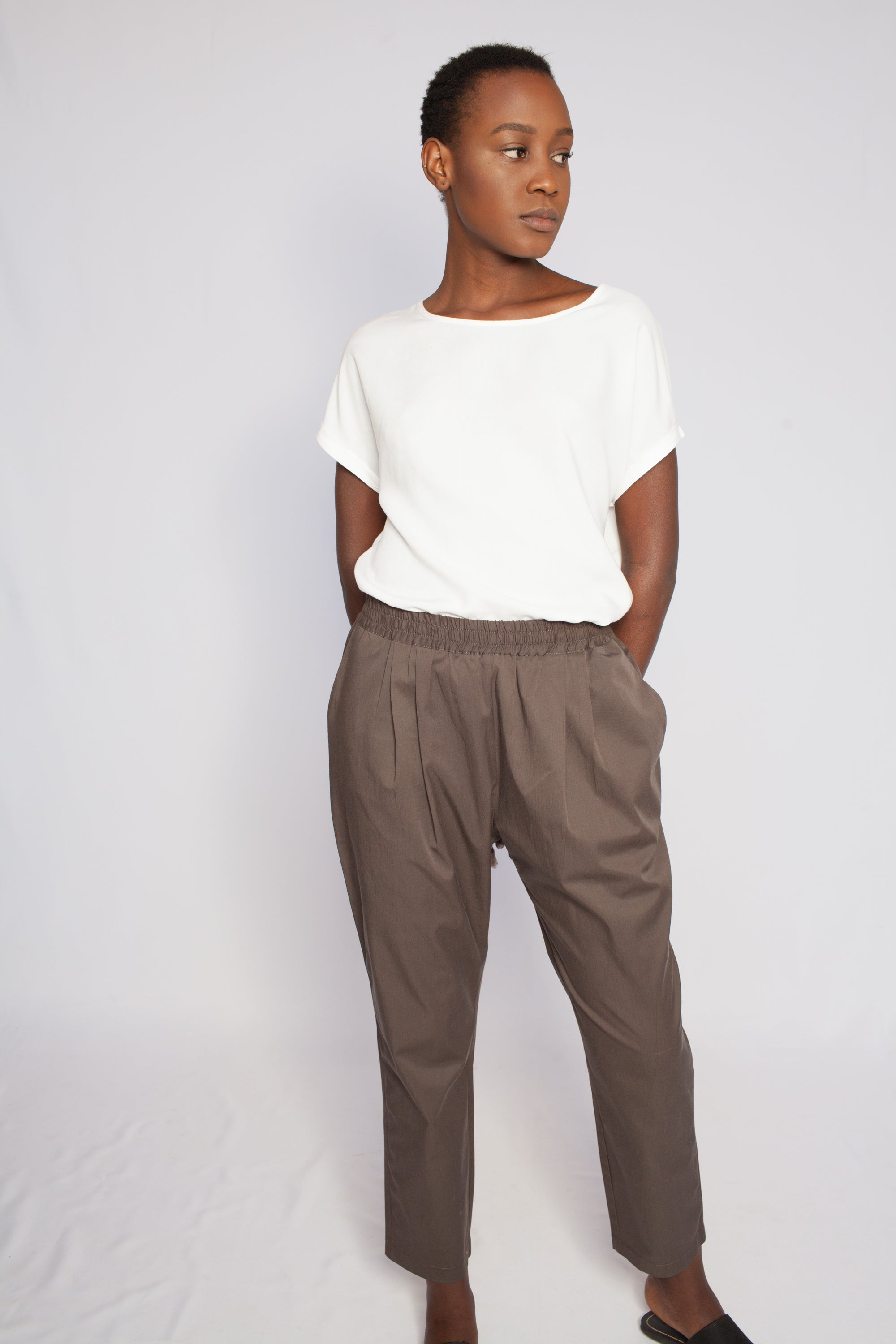 The Rift Valley Pants Safari Brown