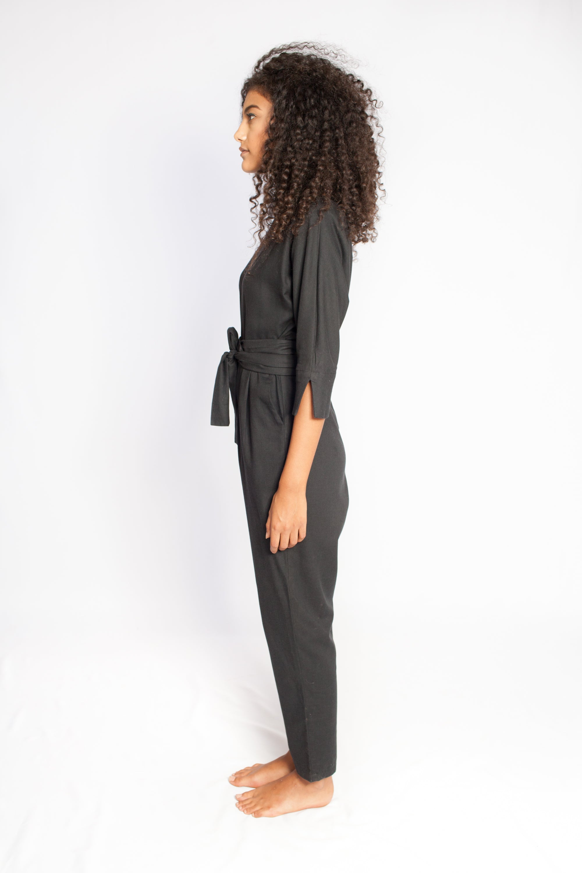 The Sahara Jumpsuit Black