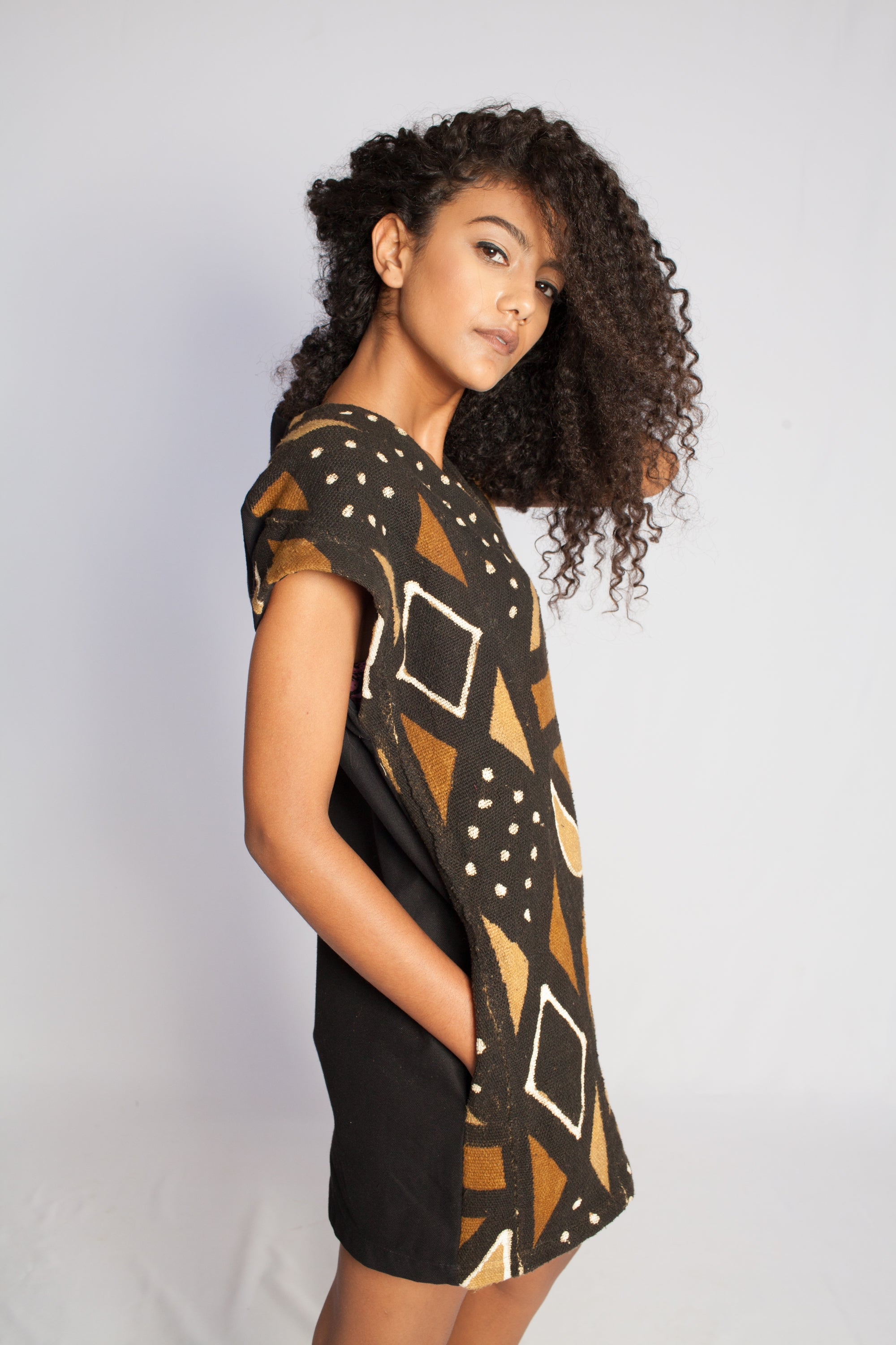 The Mahlia MUD-CLOTH Tunic