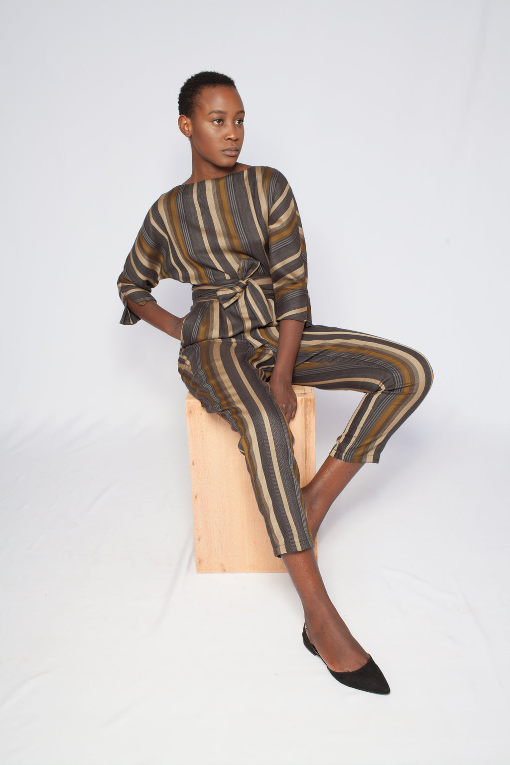 The Sahara Jumpsuit Stripes