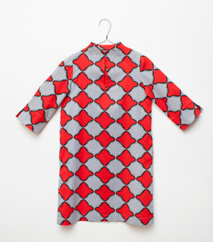 red and white spring dress for women 4