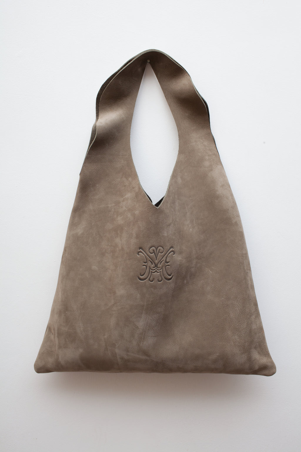 The Pyramid Bag Eucalyptus Grey