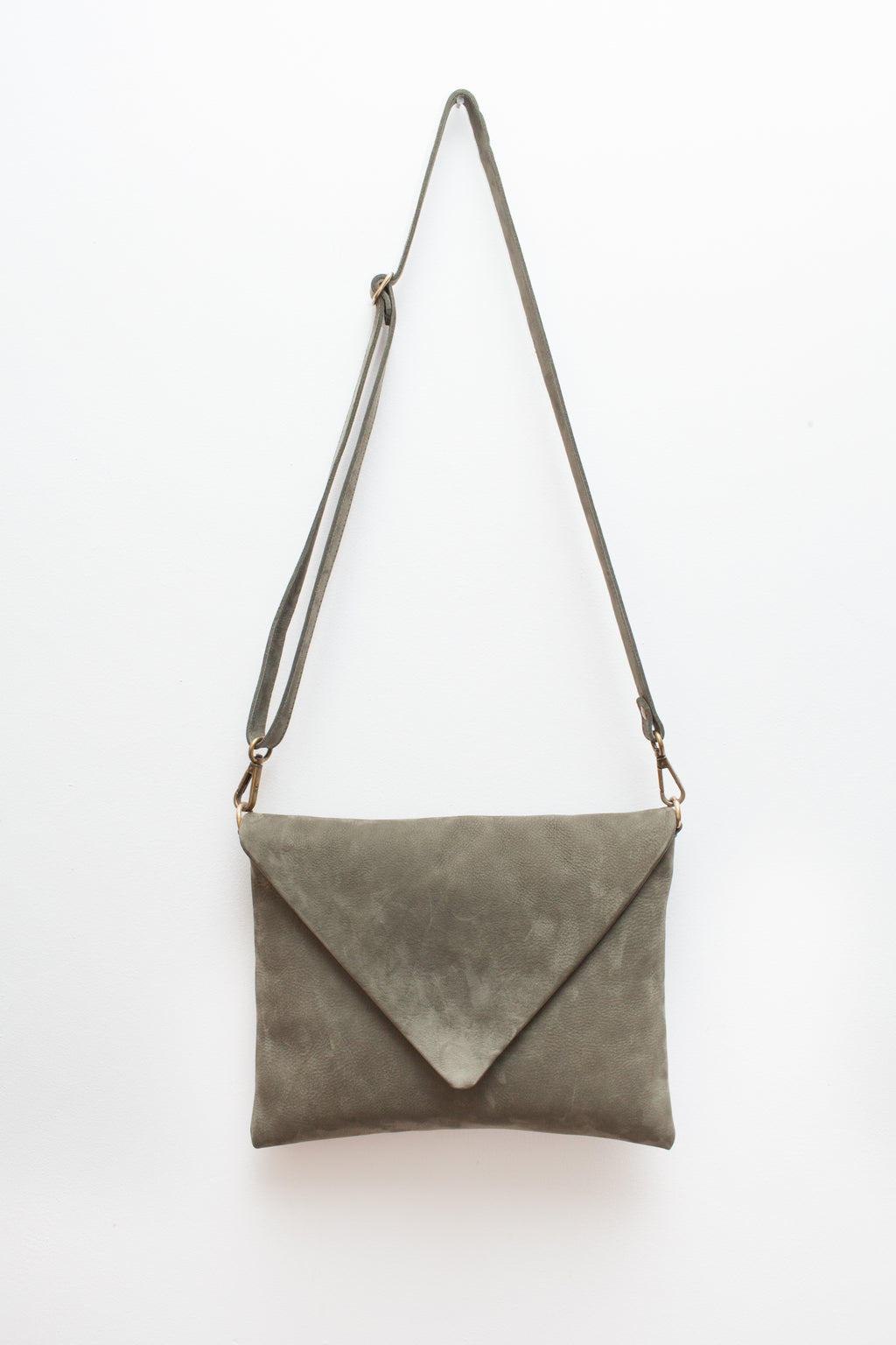 The Envelope Bag Eucalyptus Green