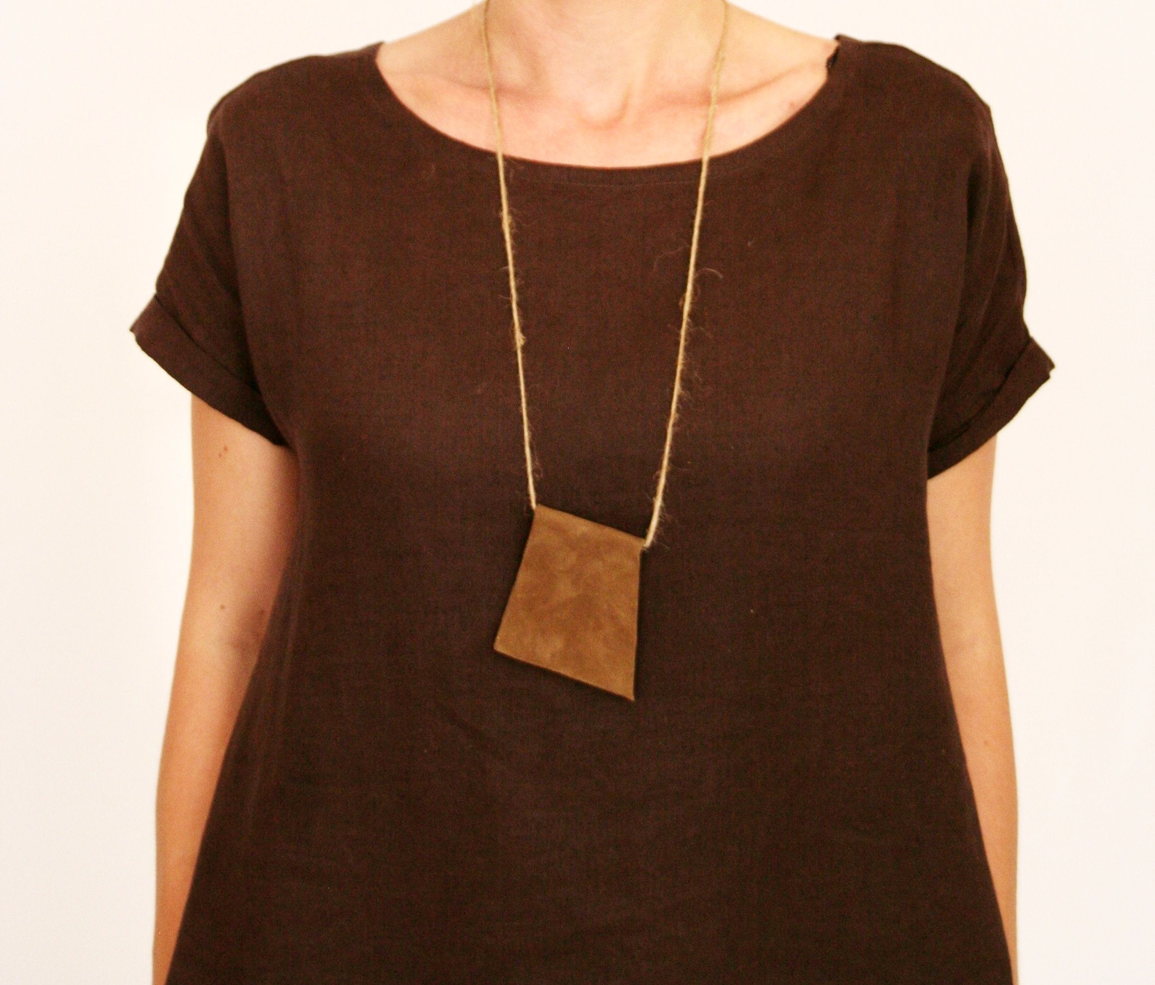 Necklace TRIBAL Caramel