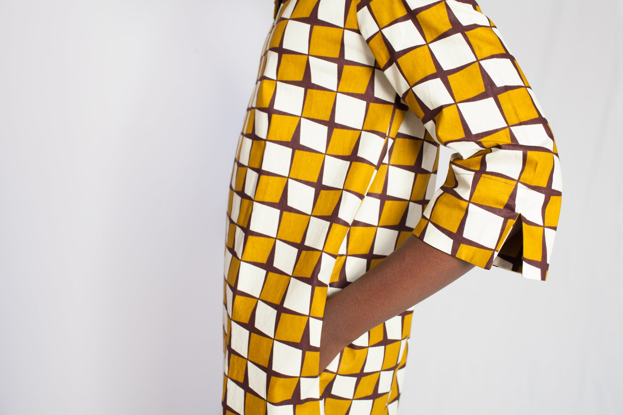 african print yellow dress 5
