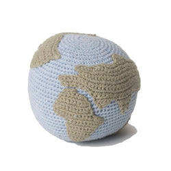 Small Crochet Globe Rattle