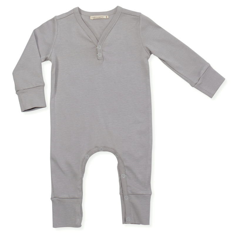 Long Sleeved V-neck Coverall