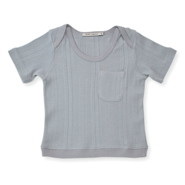 One Pocket Ribbed T-shirt