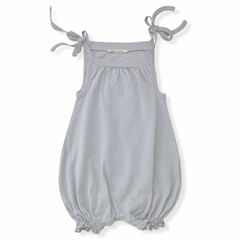 Rounded Romper with Ties