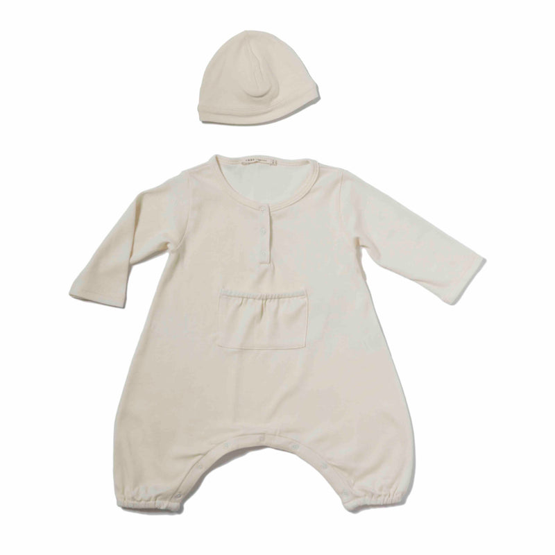 Newborn Henley Coverall Gift Set