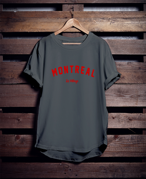 MONTREAL Le Village T-SHIRT