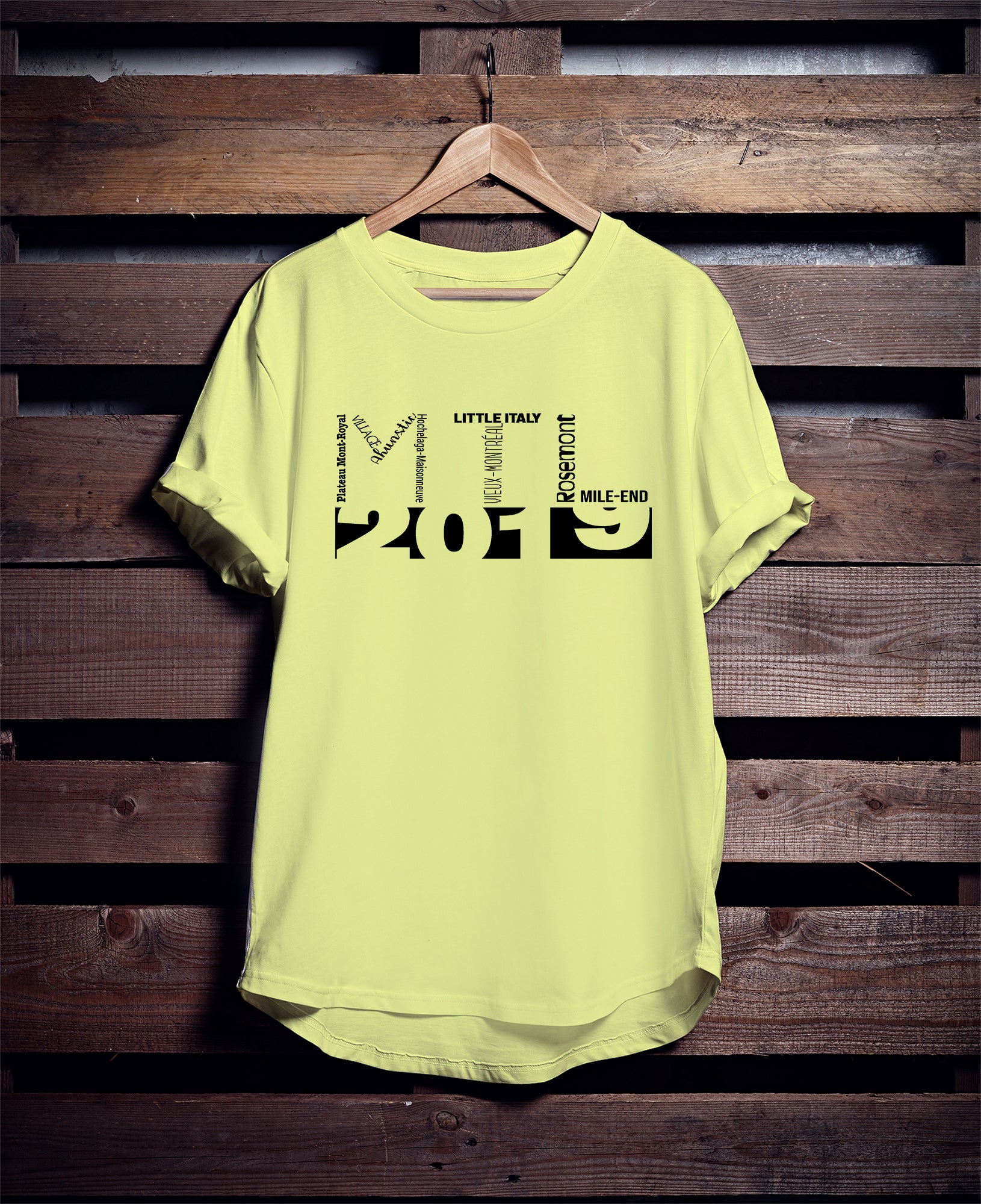 MONTREAL Puzzle 2019 T-SHIRT
