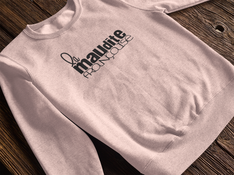 LIMITED EDITION La maudite française SWEAT