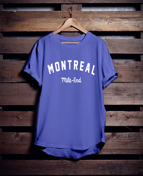 MONTREAL Mile-End T-SHIRT
