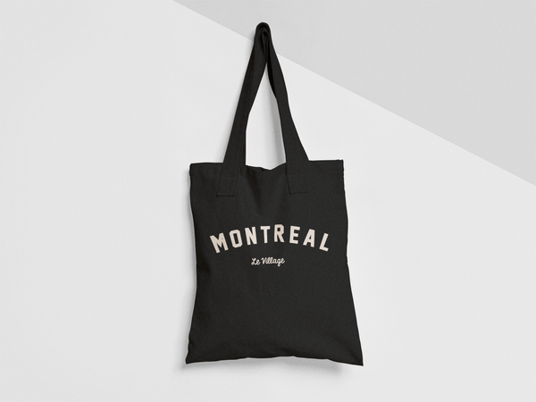 MONTREAL Le Village TOTE BAG