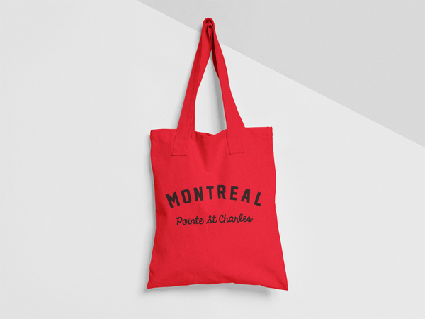 MONTREAL Pointe St Charles TOTE BAG