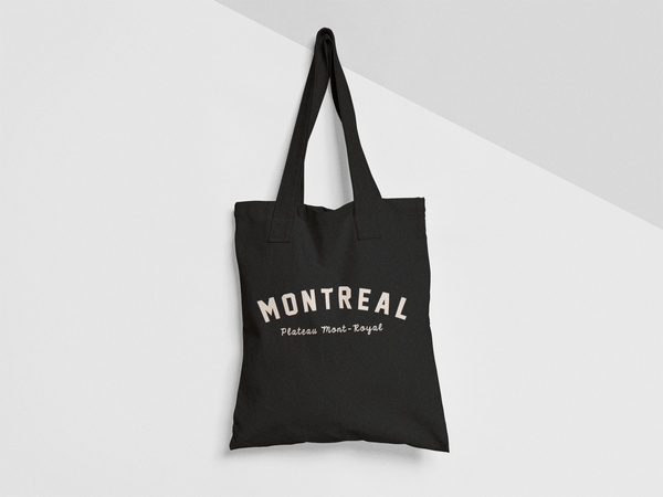 MONTREAL Plateau Mont-Royal TOTE BAG