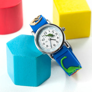 Kids' Personalised Watch - Dinosaur or Football designs
