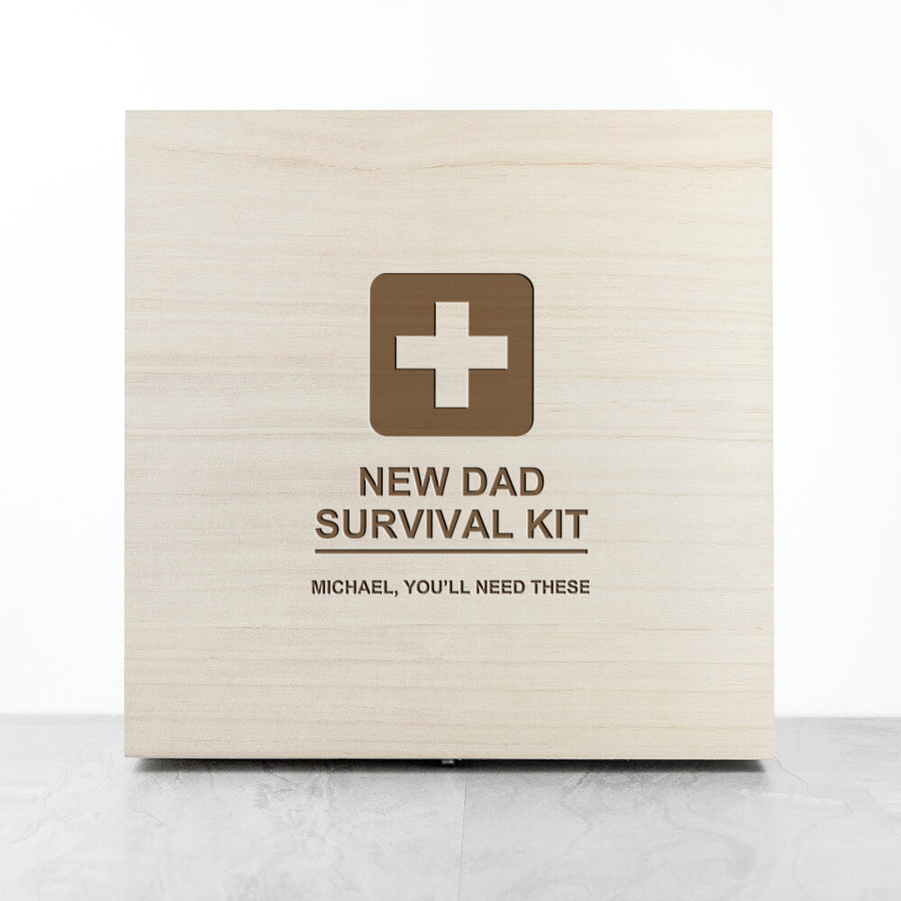 Personalised New Dad Kit